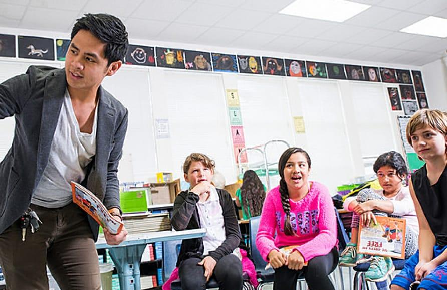 Education in the classroom