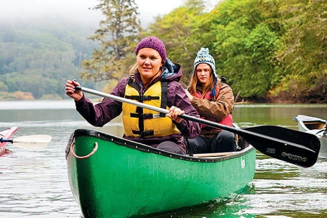 Canoeing with Center Activities